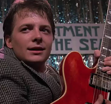 Michael J. Fox reinterpreta Johnny B. Goode