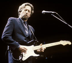 Paul McCartney con Eric Clapton