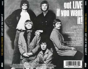 GOT LIVE IF YOU WANT IT! rolling stones