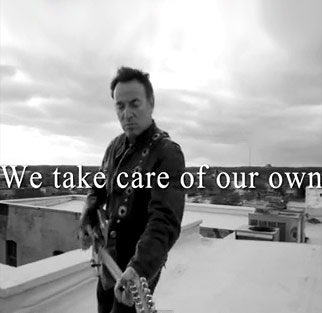 Bruce Springsteen video We Take Care of Our Own