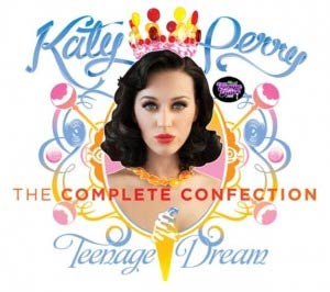 Katy Perry album disco 2012 Teenage Dream The Complete Confection