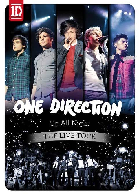 one direction Up All Night The Live Tour DVD 2012