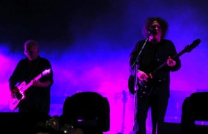 Robert Smith rock in roma the cure