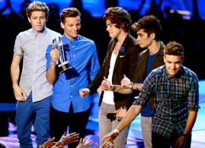 one direction MTV Video Music Awards 2012