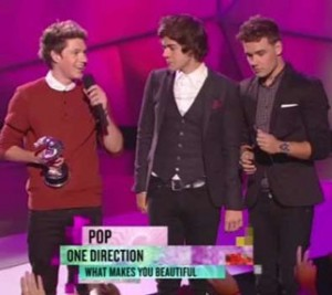 one direction VMA video pop premio