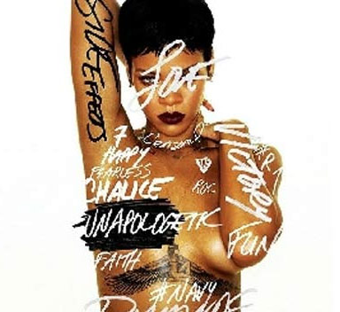 rihanna nuda topless Unapologetic