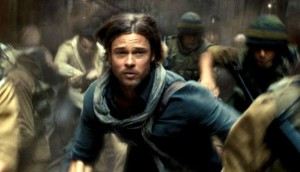 World War Z zombies Mark Forester Brad Pitt