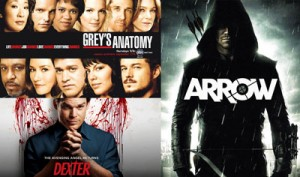 Arrow Dexter Grey's Anatomy anticipazioni news