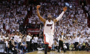 Miami Heat guard Dwyane Wade
