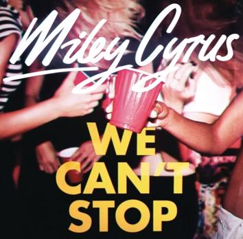 Miley Cyrus We Can't Stop nuovo singolo ascolto testo