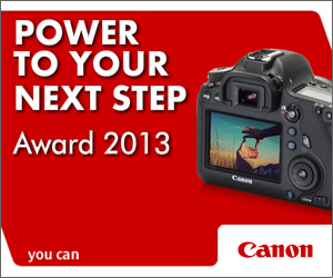 Power to your Next Step Award 2013 canon