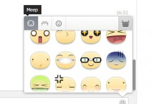 emoticons stikers faccine facebook