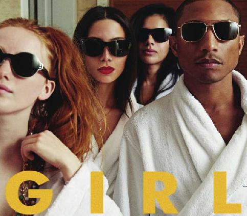 pharrell williams girl album 2014 tracklist