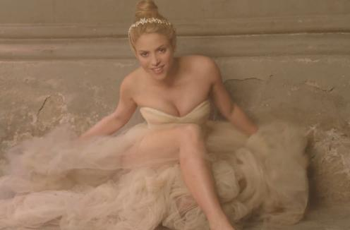 shakira empire sposa dark lady video testo