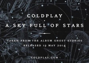 coldplay a sky full of stars video testo canzone
