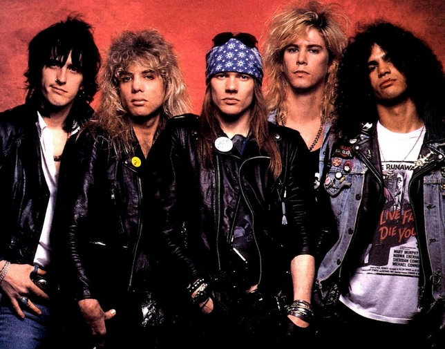 film guns n' roses cinema biografia