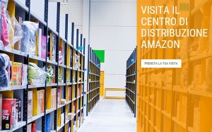 visita tour amazon centro di distribuzione
