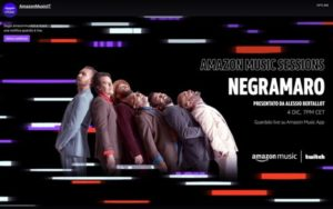 negramaro amazon music session